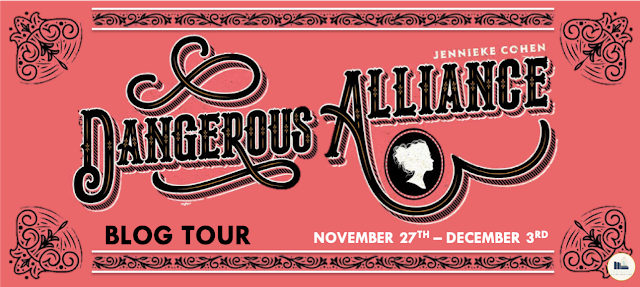 Blog Tour, Author Interview, & Giveaway: Dangerous Alliance by Jennieke Cohn