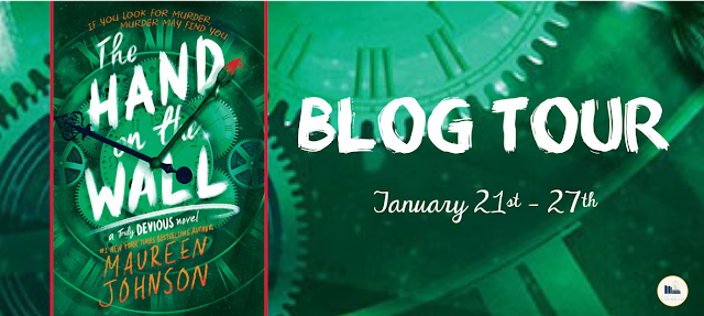 Blog Tour & Guest Post: The Hand on the Wall by Maureen Johnson